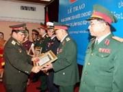 Le Laos décore plusieurs généraux vietnamiens