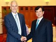 Nguyên Tân Dung reçoit le secrétaire général de l'INTOSAI