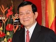 Truong Tân Sang entame une visite officielle en Russie
