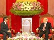 Le secrétaire général du PCV reçoit le ministre indonésien des AE
