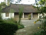 Wallonie-Bruxelles aide à restaurer les anciennes maisons de Phuoc Tich