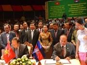 Le Vietnam offre une maison du cirque au Cambodge