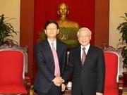 Le chef du PCV reçoit le ministre chinois de la Sécurité publique