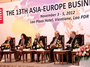Clôture du 13e Forum d'affaires Asie-Europe au Laos