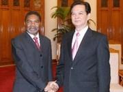 Vietnam : tapis rouge pour le président de Zanzibar
