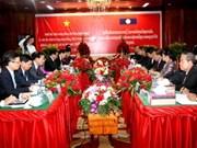 Hanoi et Vientiane resserrent leur coopération
