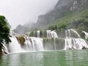 Construction d'un resort près de la cascade de Ban Giôc
