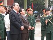 Nguyên Thiên Nhân au Musée de la victoire contre les B-52