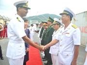 Un navire de la Marine indienne à Da Nang