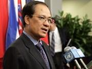 Les Philippines saluent le nouveau secrétaire général de l'ASEAN