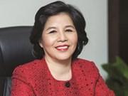 La directrice générale de Vinamilk élue CEO brillante d'Asie