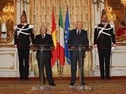 Vietnam et Italie honorent 40 ans de relations diplomatiques