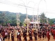 Fête d'A Riêu ping à Quang Tri