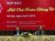 Ouverture de la Foire du printemps 2013 à Hanoi