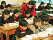 Aide de Boeing pour la construction d'une école à Hoa Binh