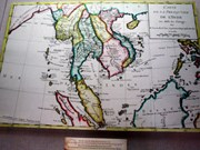 Cartes anciennes sur Hoàng Sa, Truong Sa vues à Khanh Hoa