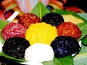 Le xôi aux cinq couleurs, authentique et savoureux
