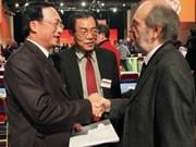 Une délégation du PCV au 36e congrès du PCF à Paris