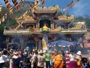 À Tây Ninh, fête printanière sur la montagne Bà Den