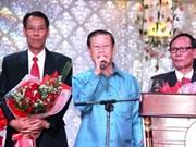 Un vice-PM laotien assiste au Têt vietnamien à Kham Muon