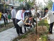 Le Têt de plantation d'arbres lancé dans tout le pays