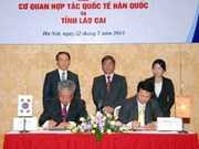 La KOICA aide Lao Cai à améliorer le niveau de vie de sa population