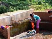 Programme d'hygiène au profit de plus de 85 % de la population rurale