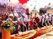 Mise en chantier d'une succursale de la Banque LVB au Laos