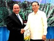 Le président du Laos reçoit un vice-Premier ministre du Vietnam