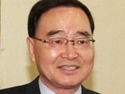 Félicitations au Premier ministre sud-coréen