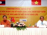 Rencontre avec des investisseurs vietnamiens au Laos