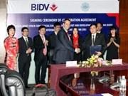 La banque IIB coopère avec des banques vietnamiennes