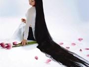 Hoàng Phuong Lan, la plus longue chevelure au Vietnam
