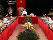 Le Premier ministre en tournée de travail à Phu Yen