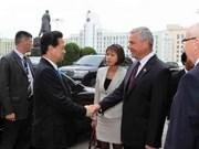 Le PM rencontre des dirigeants de l'AN de Biélorussie