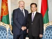 Nguyên Tân Dung rencontre Alexander Lukashenko