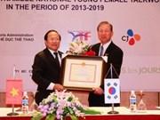 Le sud-coréen CJ soutient le taekwondo féminin vietnamien