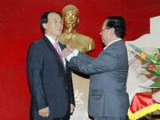 L'ambassadeur de R. de Corée au Vietnam à l'honneur