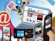 Le marché publicitaire dopé par la téléphonie mobile