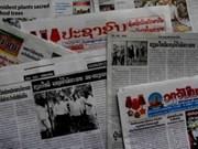 La presse laotienne loue les bienfaits du groupe industriel du caoutchouc du Vietnam