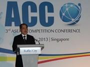 Le Vietnam participe à la conférence sur la concurrence de l'ASEAN