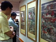 Exposition d'estampes populaires en France