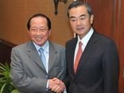Chine et Cambodge intensifient leurs relations