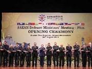 Défense : ouverture de la conférence ADMM+ au Brunei