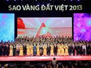 """""""Etoile d'or du Vietnam 2013"""" : 200 marques à l'honneur"""