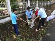 """Le Vietnam répond à la campagne """"Nettoyons la Terre"""""""