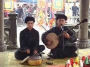 Le 1e festival du chant Châu van à Hanoi