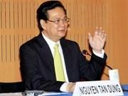 Le PM vietnamien dialogue avec les principaux groupes économiques français