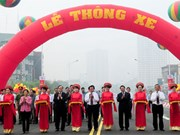 Le septième viaduc routier à Hanoi s'ouvre au trafic