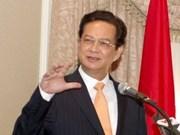 Le PM Nguyen Tan Dung part au 23e Sommet de l'ASEAN